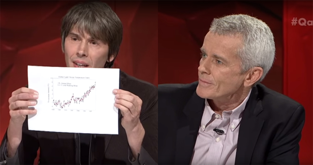 Brian Cox and Malcolm Roberts on ABC Q&A