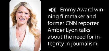 A chat with Amber Lyon