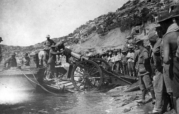 Anzac Cove, World War I