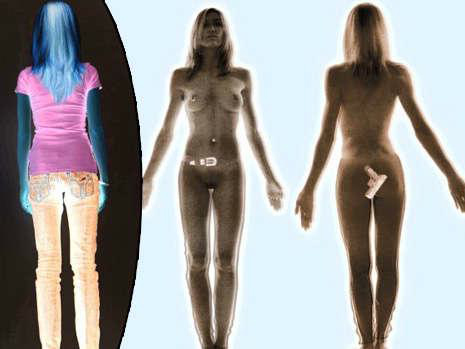 Full Body Scanner Image