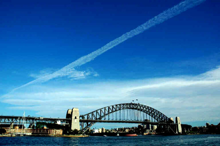 Chemtrail Over Sydney