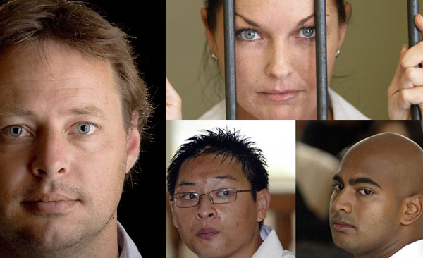 Hicks, Corby and Bali Nine