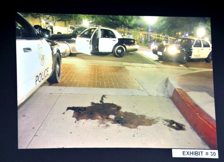 Kelly Thomas crime scene