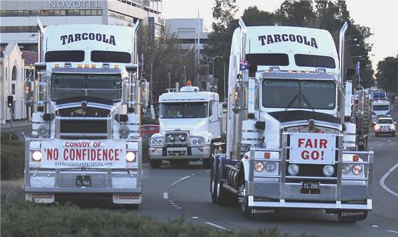 Convoy of no confidence