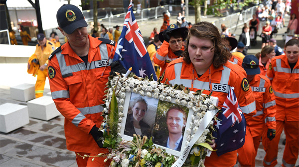 Sydney siege victims remembered