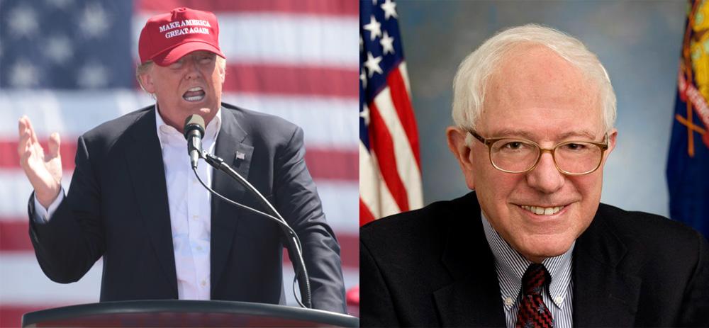 Trump Vs Sanders