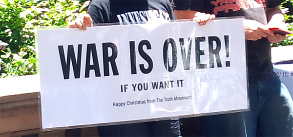 War is Over - Happy Christmas from the Truth Movement