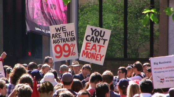 Occupy Sydney Reserve Bank